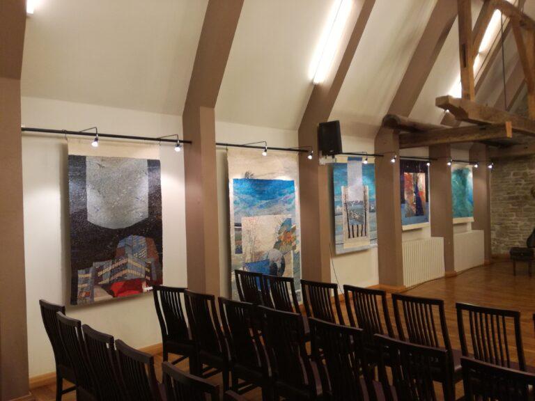 Näitus Hopneri maja saal